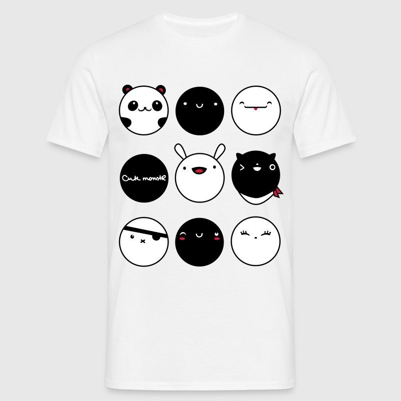 Kawaii Faces - Camiseta hombre