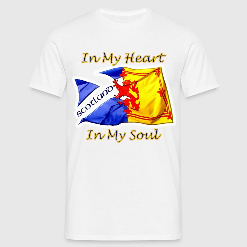 Heart and Soul Scotland - Men's T-Shirt