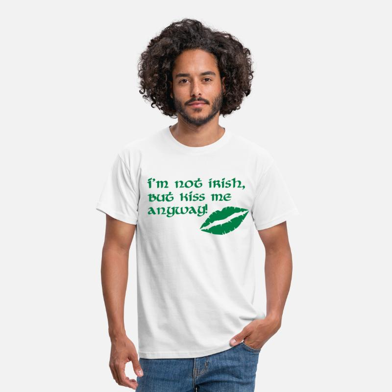 St Patricks Day T-Shirts - Irish - Men's T-Shirt white