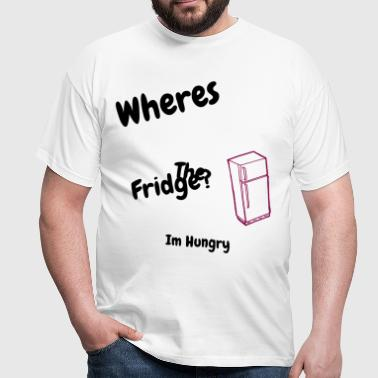 Wheres The Fridge? - Men's T-Shirt