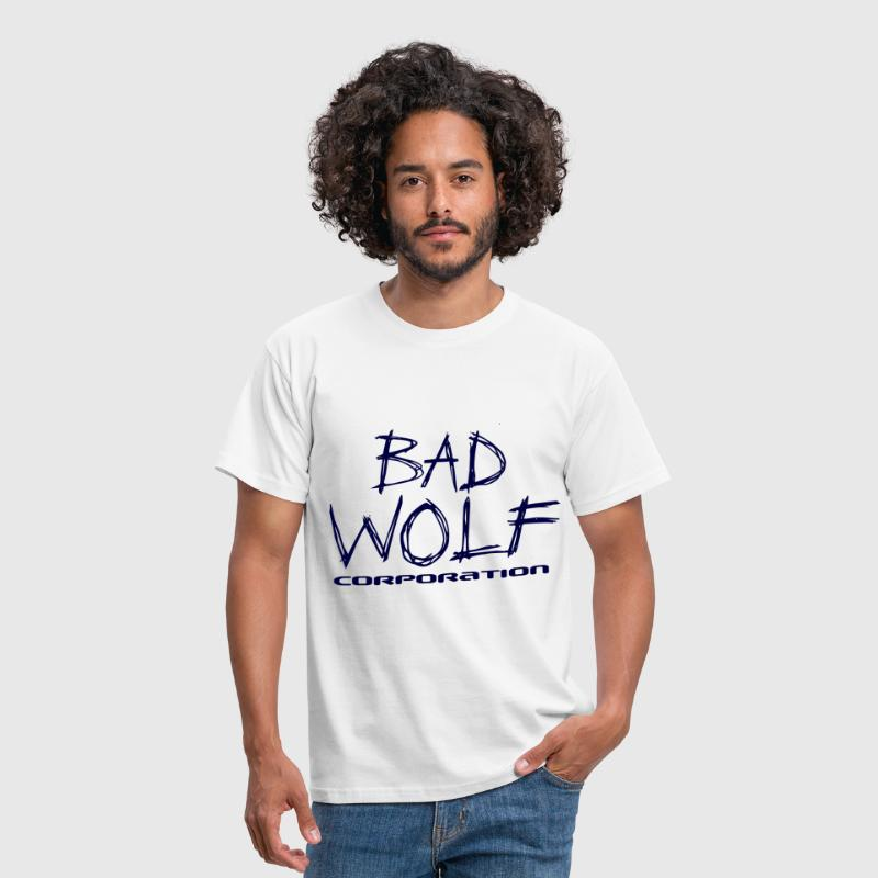 Bad Wolf Tardis Blue - Men's T-Shirt
