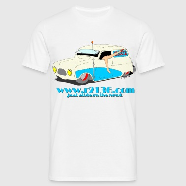 Renault 4 lowrider - T-shirt Homme