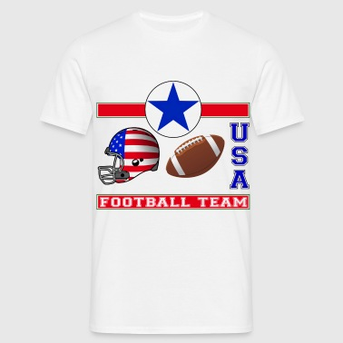 foot americain - T-shirt Homme