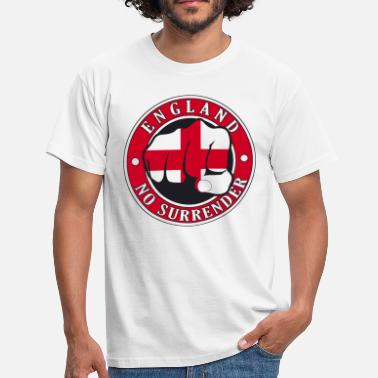 England England No Surrender Fist - Men's T-Shirt