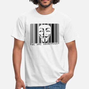 CODE BARRE ANONYMOUS - T-shirt Homme
