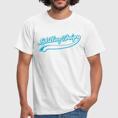 Curly text - T-shirt herr