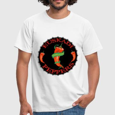 Basque peppers - T-shirt Homme