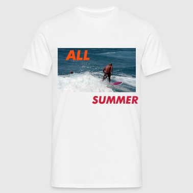 surfin - Men's T-Shirt