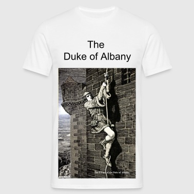 Escape of the Duke of Albany - Men's T-Shirt