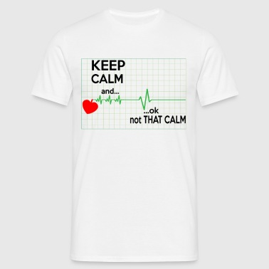 Keep Calm Nurse - Men's T-Shirt