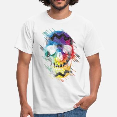 76650d7843fd9 T-shirt Tête de mort à commander en ligne   Spreadshirt