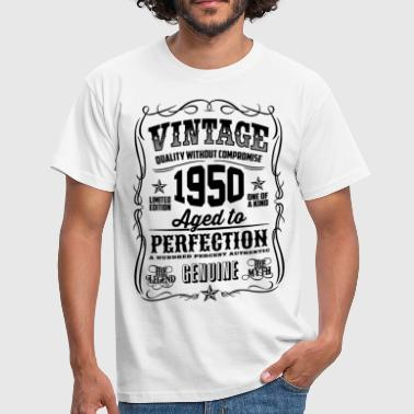 Made In 1950 1950 Vintage 68th Birthday gift 68 years old - Men's T-Shirt