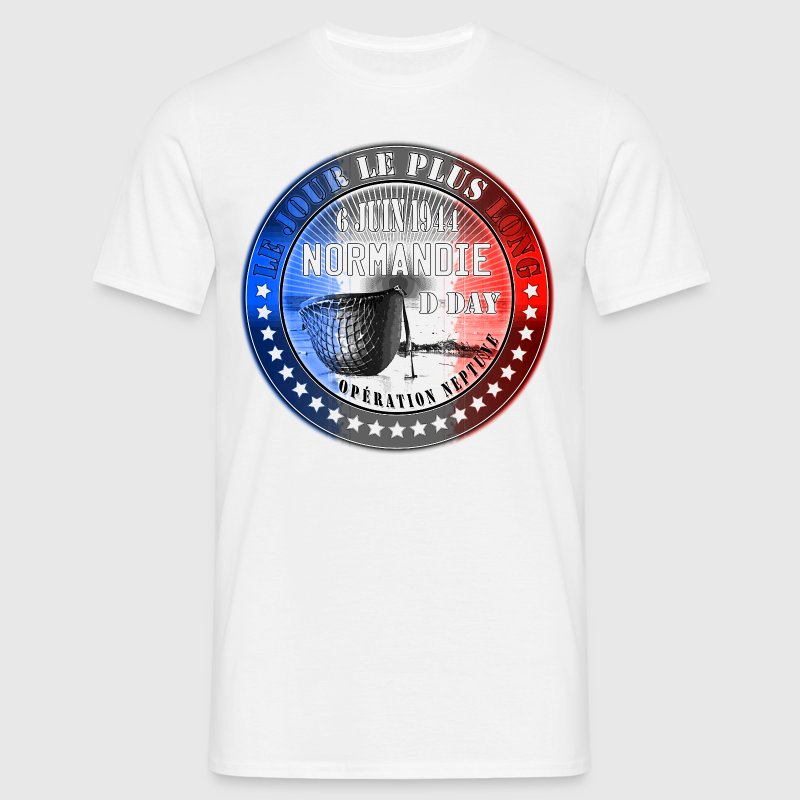 le jour le plus long normandie d day 1944 - T-shirt Homme
