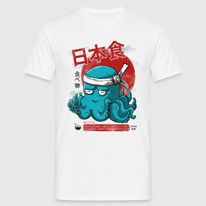 Japanese Octopus - T-shirt Homme