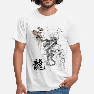 Dragon Chinois Drago - T-shirt Homme