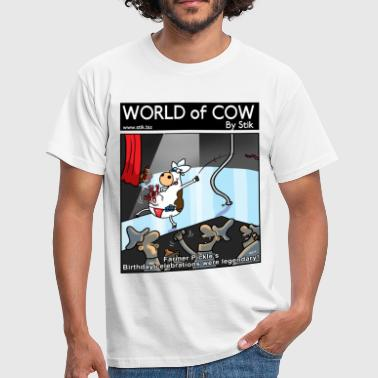 Stripper Cow Stripper - Men's T-Shirt