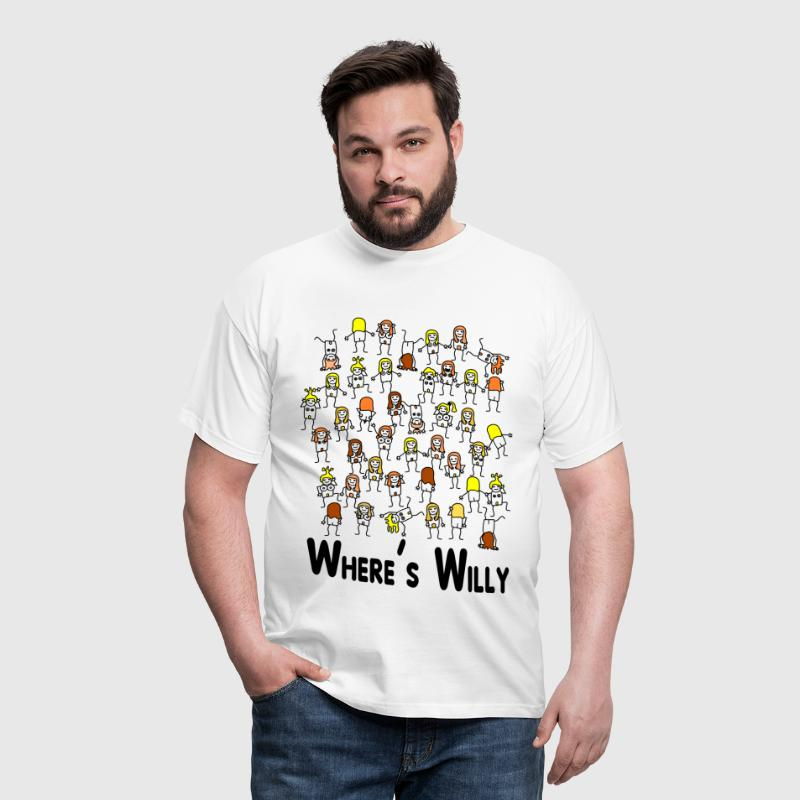 where is willy - T-shirt Homme