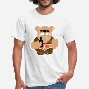 Gay Bears beer bear distressed - Men's T-Shirt