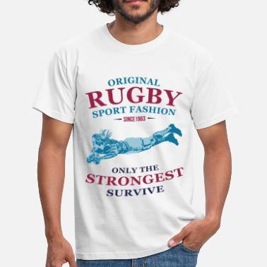 Funny Rugby RUGBY - Men's T-Shirt