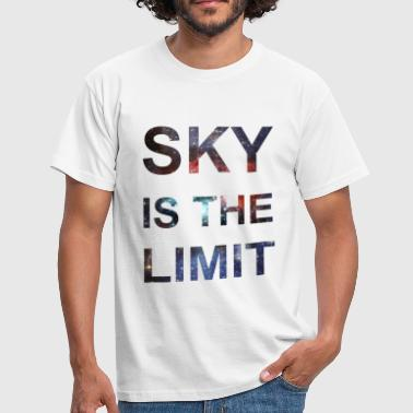 SKY IS THE LIMIT - Men's T-Shirt
