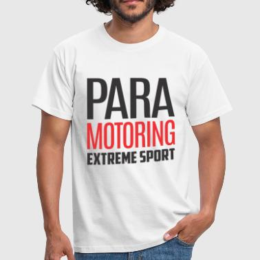 Paramotoring Extreme Sport Color - Men's T-Shirt
