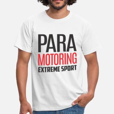 Paramotoring Paramotoring Extreme Sport Color - Men's T-Shirt