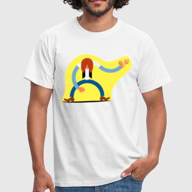 Air guitar - Men's T-Shirt