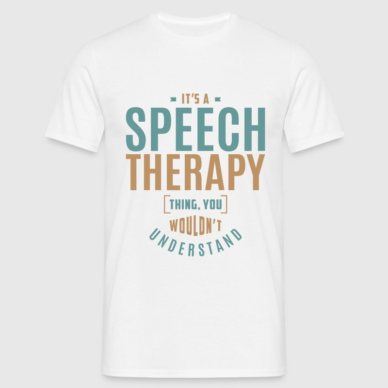 Speech Therapy T-shirt - Men's T-Shirt