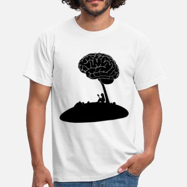 Brain Design Brain Tree Anatomy Design - Men's T-Shirt