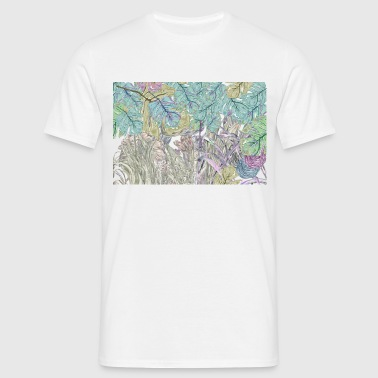 jungle pattern - Men's T-Shirt