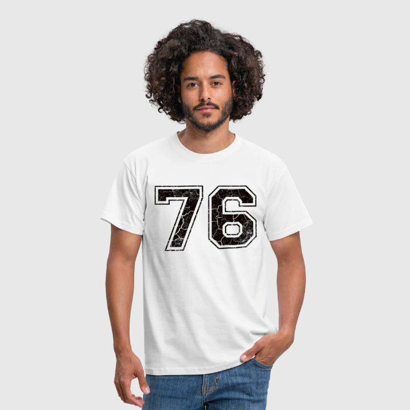 Paie 76 in Grunge Look - T-shirt Homme