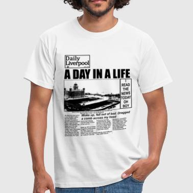 Liverpool A Day In A Live - The  - T-Shirt - Men's T-Shirt
