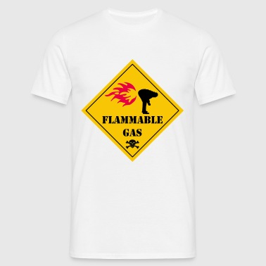 flammable gas - T-shirt Homme