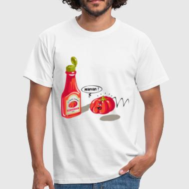 desperate tomato - T-shirt Homme