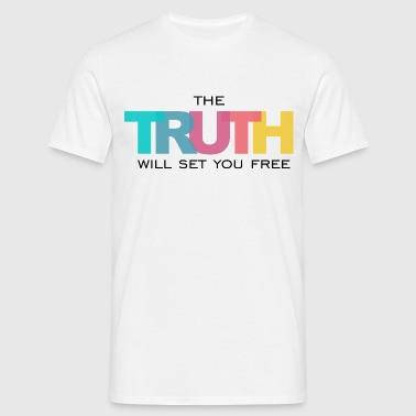 The Truth will set you Free - T-shirt Homme