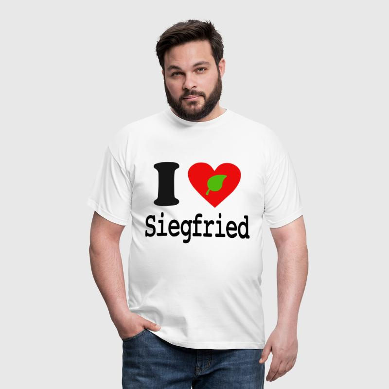 I Love Siegfried  - T-shirt Homme