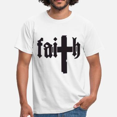 Faithful Faith - Men's T-Shirt