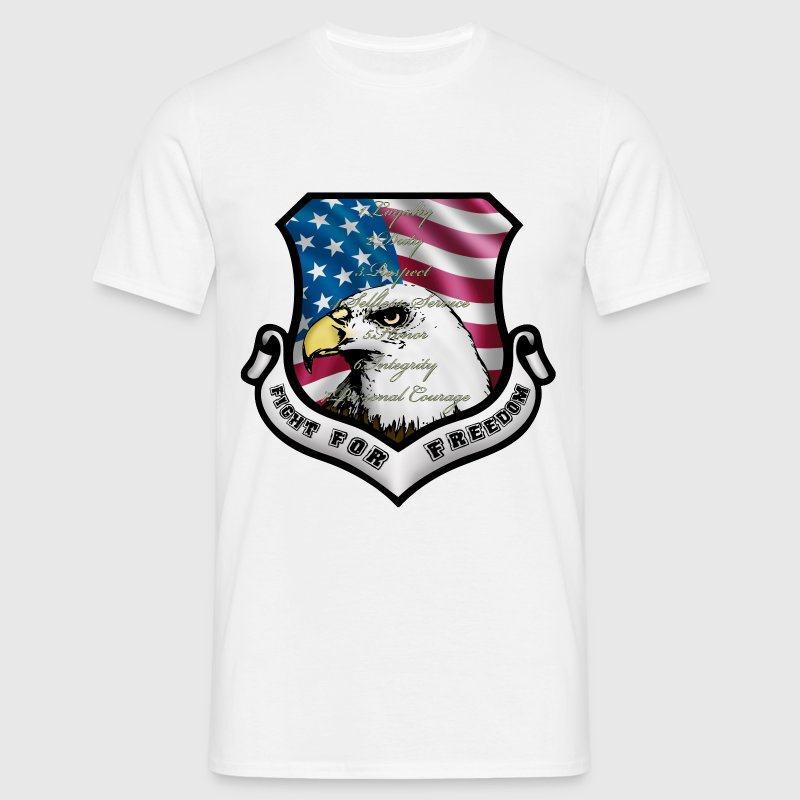 ecusson usa - T-shirt Homme