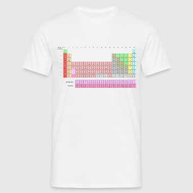 Periodic Table - Men's T-Shirt