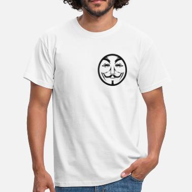 Coin Anonymous coin - Männer T-Shirt