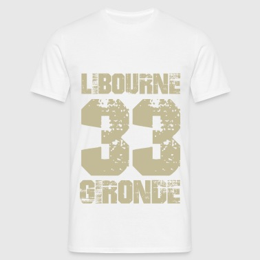France Aquitaine Gironde 33 Libourne - T-shirt Homme