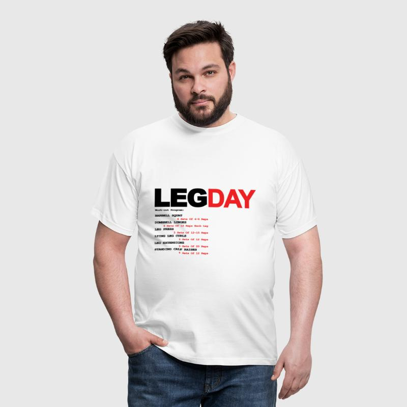Leg Day - Men's T-Shirt