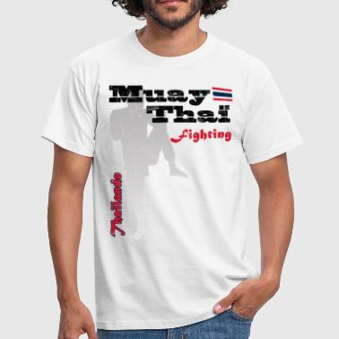 muay thai fighting - T-shirt Homme