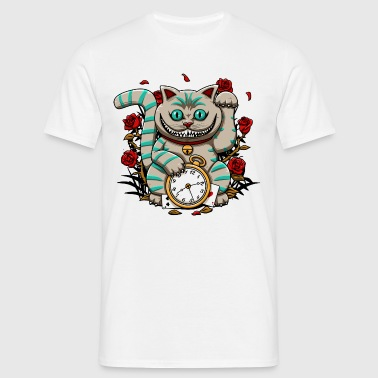 Cheshire maneki - T-shirt Homme