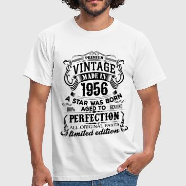 Born 1956 Vintage 1956 - Men's T-Shirt