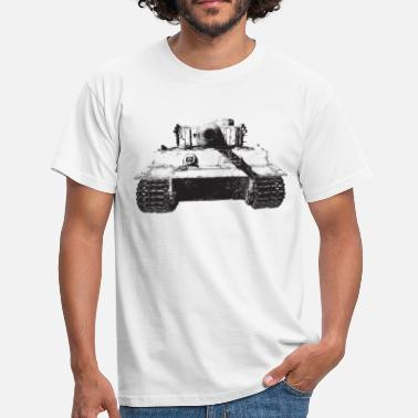 tiger, PzKpfw VI - Men's T-Shirt