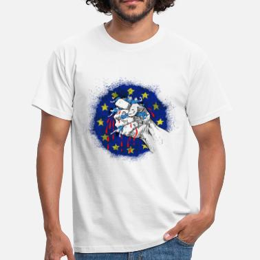 Anti Europe Capitaliste (test) - T-shirt Homme
