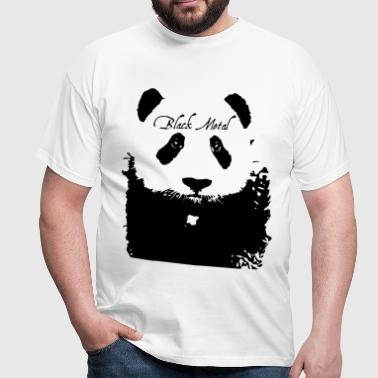 Black Metal Panda - Männer T-Shirt