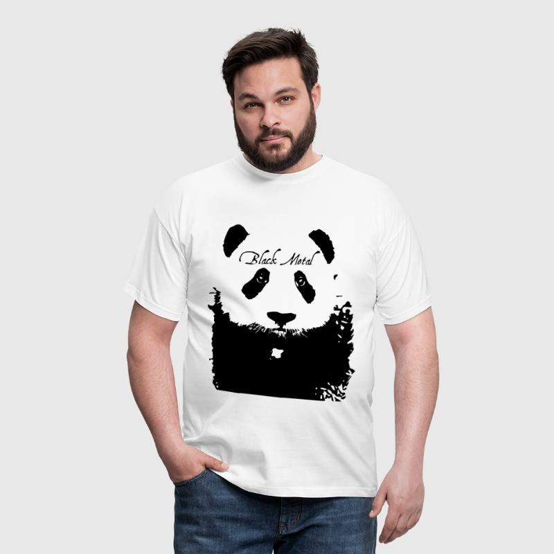 Black Metal Panda - T-shirt Homme
