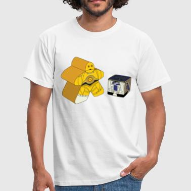 Board CMeepleO and R2DCube - Men's T-Shirt